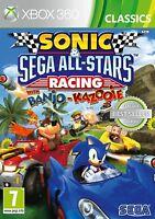 Sonic & SEGA All Stars Racing For XBox 360 (New & Sealed)
