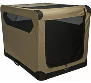 Portable Folding Soft Dog Travel Crate Kennel, X-Large (31 x 31 x 42 Inches)
