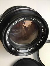 Olympus Zuiko Prime Auto-T 100mm f/2.8 Lens  Excellent Condition