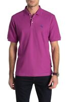 NWT Tommy Bahama Men's SZ M Island Sunset Purple Emfielder Polo Shirt