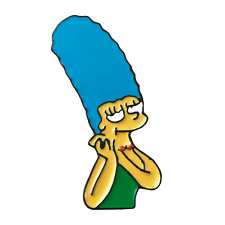 Pin simpsons marge simpson pin  Enamel Brooch Jewelry Gift {80%OFF}