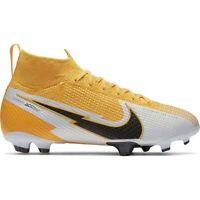 Nike Mercurial Superfly 7 Elite Fg Junior AT8034 801 soccer shoes yellow yellow