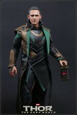 "HOT TOYS Thor The Dark World Loki Tom Hiddleston 12"" Figure Special VIP Edition"