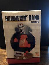 Hammerin Hank Atlanta Braves Tool Race Mini Bobblehead SGA Home Depot NEW