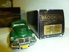 die cast 1/43 Chevrolet Fleetline AERO BERLINA  1948 -BROOKLIN  BRK50 001 green