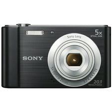 Sony DSC-W800/B Point and Shoot Digital Still Camera - Black