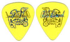 DALI GAGGERS Guitar Pick : Tour Al Romano clear yellow custom Marilyn Manson
