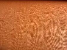 ORANGE SNAKE SKIN UPHOLSTERY  FABRIC 4 YDS