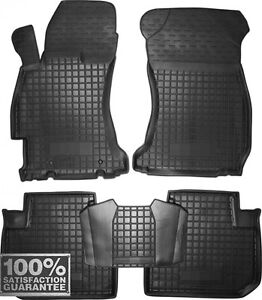 Rubber Carmats for Subaru Forester SJ 2013-2017 All Weather Tailored Floor Mats