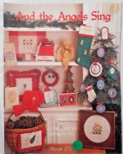 June Grigg AND THE ANGELS SING Xmas cross stitch charts Ornaments, Samplers