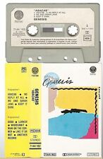 GENESIS cassette K7 tape ABACAB french pressing 7144 162