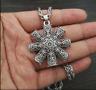Dharma Wheel Of Life Samsara Buddhist Pendant Necklace