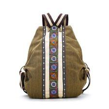 Tribal Ethnic Canvas Damen Rucksack Tasche Hippie Schultertasche Maedchen B A5L6