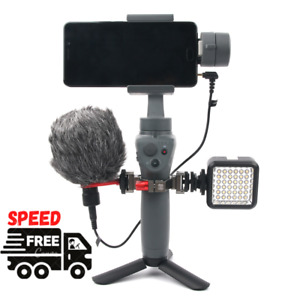 New Stand Base Stabilizer Phone For Microphone and Flash Light Base