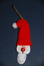 4.5 Inch Hand Painted Santa Claus Christmas Ornament -- Holidays