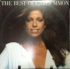 CARLY SIMON The Best Of Album Released 1975 Vinyl/Record Collection US pressed