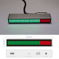Sound Control Mono 32 Level indicator LED VU Meter Amplifier Board lamps for car