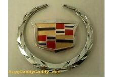 Cadillac DHS WREATH & CREST GRILLE EMBLEM!!