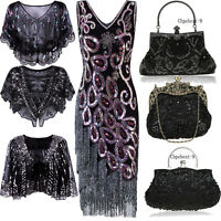 1920s Flapper Dresses Vintage Retro 50s Style Evening Gowns Prom Party Christmas
