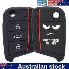 Silicone Remote Key Case Shell For VW VOLKSWAGEN MK7 GOLF Tiguan Polo 2019 2020