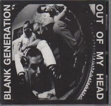 BLANK GENERATION-OUT OF MY HEAD CD Oi!Oi!Oi! Skin Way of Life/Streetpunk/