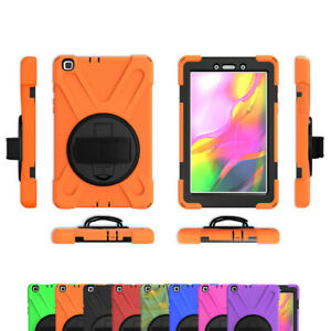 Shoulder Strap Protective Rugged For Samsung Galaxy Tab A 8 10.1 2019 Case Cover