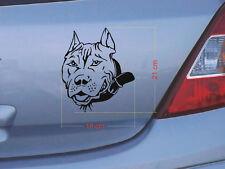 Pitbull perros tatuaje-cartattoo/autotatto 18x21 cm (7)