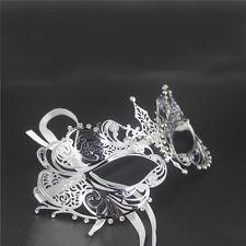 Metal Laser Cut Filigree Mardi Gras Masquerade Venetian Party Cosplay Ball Mask