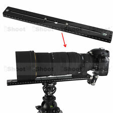 35cm Quick Release Plate fr Camera Tripod Ball Head iShoot Telephoto Lens Holder