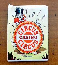 Lot of 4 Collectable Matchbooks, Las Vegas Casinos, Stardust, Sands +