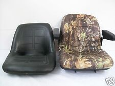 HIGH BACK CAMO SEAT FITS 650,750,850,950,& 1050 JOHN DEERE COMPACT TRACTOR #JO
