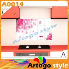 Wall Decal Sticker Paper Decor Oil Proof Aluminum Foil Sticker Kitchen A0014