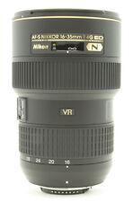 Nikon 16-35 mm F/4.0 AF-S ED G VR SWM Aspherical N Objektiv NEU VERSIEGELT