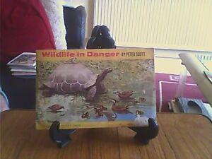 Brooke Bond Wildlife in Danger Paperback Complete Official Album Tea Cards