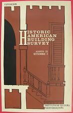 Octavio Historic American Building Survey Cartel Poster Serigraph Puerto Rico