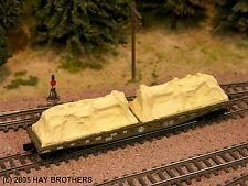 Hay Brothers TARP COVERED DIESEL GENERATOR load (2/pack Tan) for Flatcars & Gons
