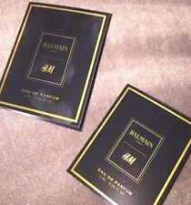 BALMAIN x H&M H M EAU DE PARFUM SAMPLES NEWEST OUT (2) NEW