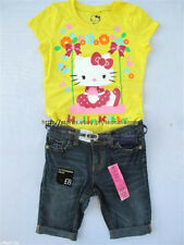 58% OFF! AUTH HELLO KITTY YELLOW GLITTER TEE SMALL BNEW SRP US$12.95+