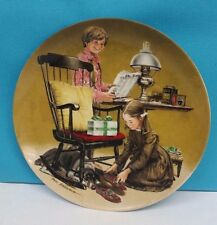"""Decorative plate """"fathers day"""" by Knowles company"""
