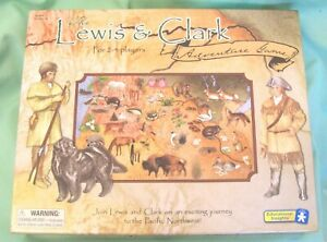 LEWIS & CLARK Adventure GAME 2003 SEALED Educational Insights Homeschool History