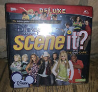 Scene It? Disney Channel DVD Game Deluxe Trivia 2008 Collectible Tin Sealed