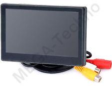 Automonitor Parkmonitor Minimonitor LCD TFT 11cm 4,3 Zoll MEGA Techno 43MF-1-j