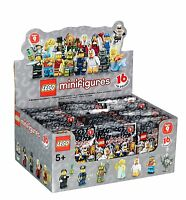 New Factory Sealed LEGO 71000 Box/Case of 60 Minifigures Series 9