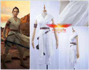 Costume Star Wars The Rise of Skywalker Costume Rey Cosplay Suits Halloween