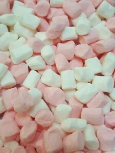 Mini Pink & White Marshmallows for Hot Chocolate