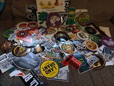 Lot Of Ten (10) Assorted Brewery Beer Stickers, No Repeats