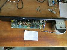 HH Electronic MXA150 rear panel inc power amp, power supply, toroid, switch etc