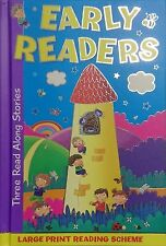 Large Print Early Readers - 3 Read Together Stories - A5 size - Book 1