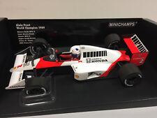 Minichamps F1 WC McLaren MP4/5 A. Prost 1989 1/18 530891802