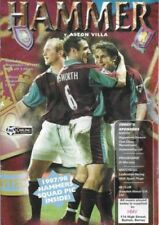Teams S-Z West Ham United Football Programmes with Match Ticket